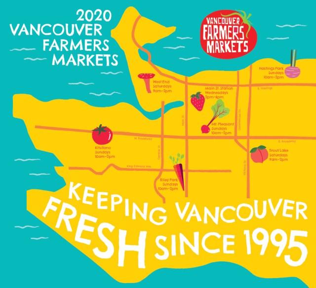 Vancouver Farmers Markets