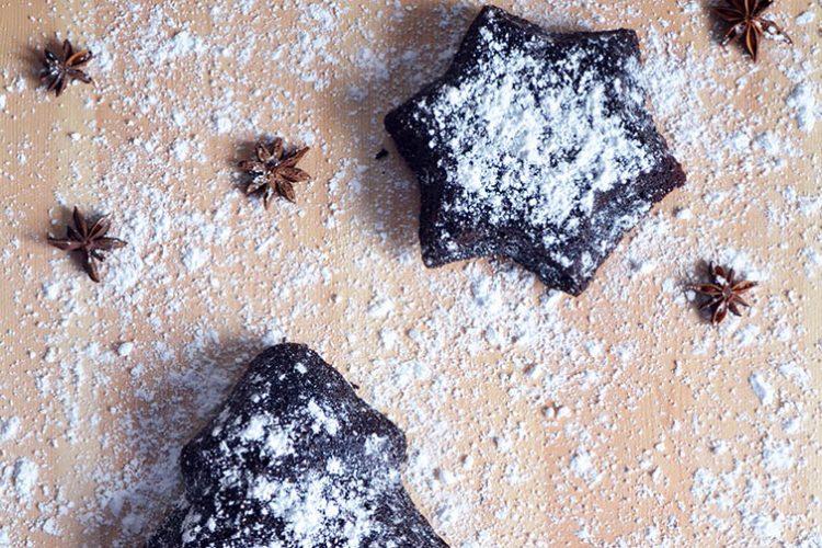 Ciasto bardzo czekoladowe z pieczonymi burakami
