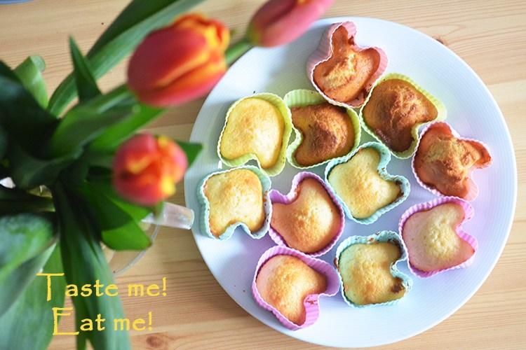 Cytrynowe muffinki dla zabieganych przed świętami ;-)