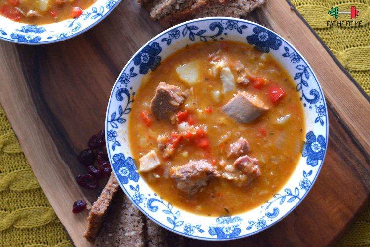 Przepis na zupę z jagnięciną prosto z Bieszczad