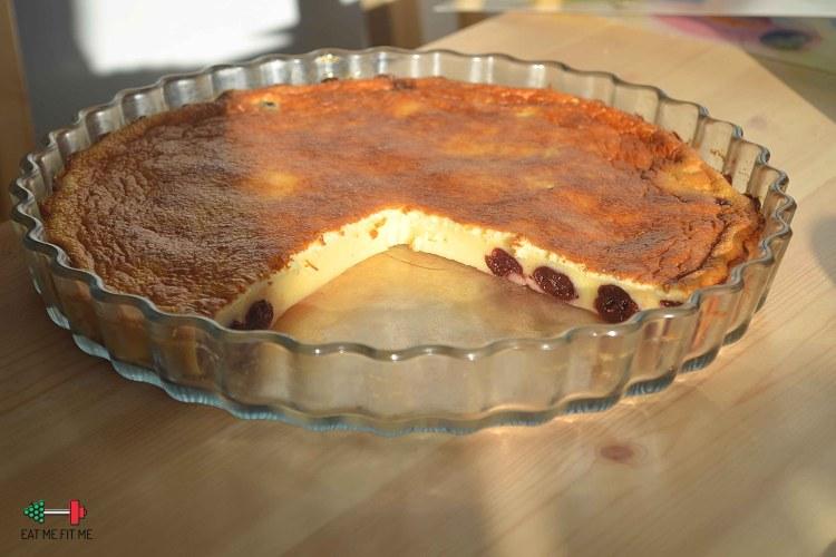 Clafoutis z wiśniami, czyli prosty deser po francusku