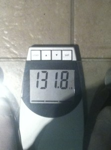 Once upon a long, LONG time ago, I stepped on a scale, and it said this ;)