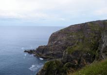 Some pretty impressive cliffs here, too!