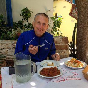 Steve Maxwell Diet - Omelet, Stewed Okra, Cabbage Salad