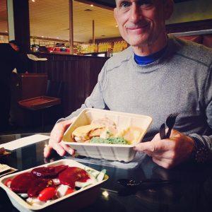 Steve Maxwell Diet - Turkey, Gravey & Creamed Spinach