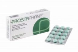 Image of box and tablets of Prostaphane sulforaphane supplements.