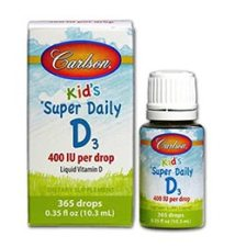 Image of Box and Bottle of Kid's Super Daily D3