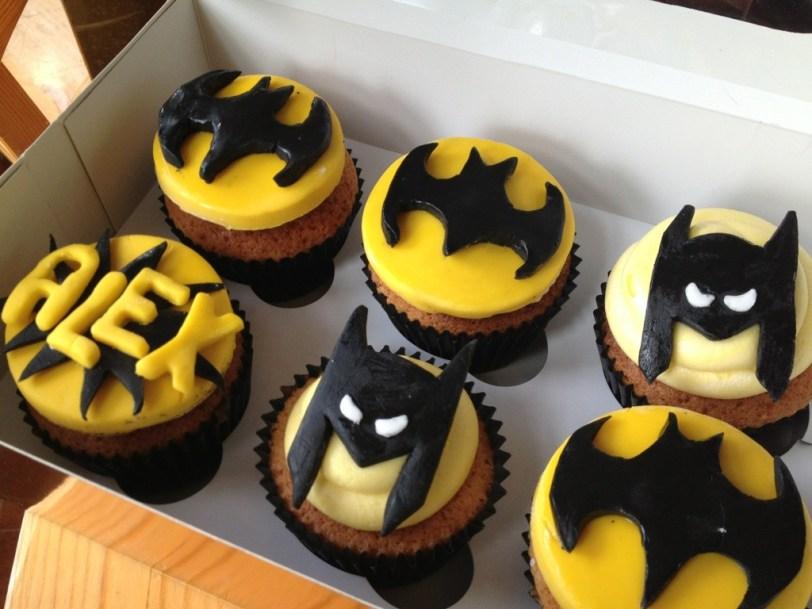 Batman Cupcakes Eat My Cakes