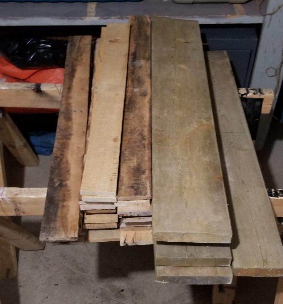 Repurposing materials  lumber