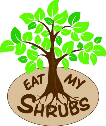 Eat My Shrubs Logo organic lawn