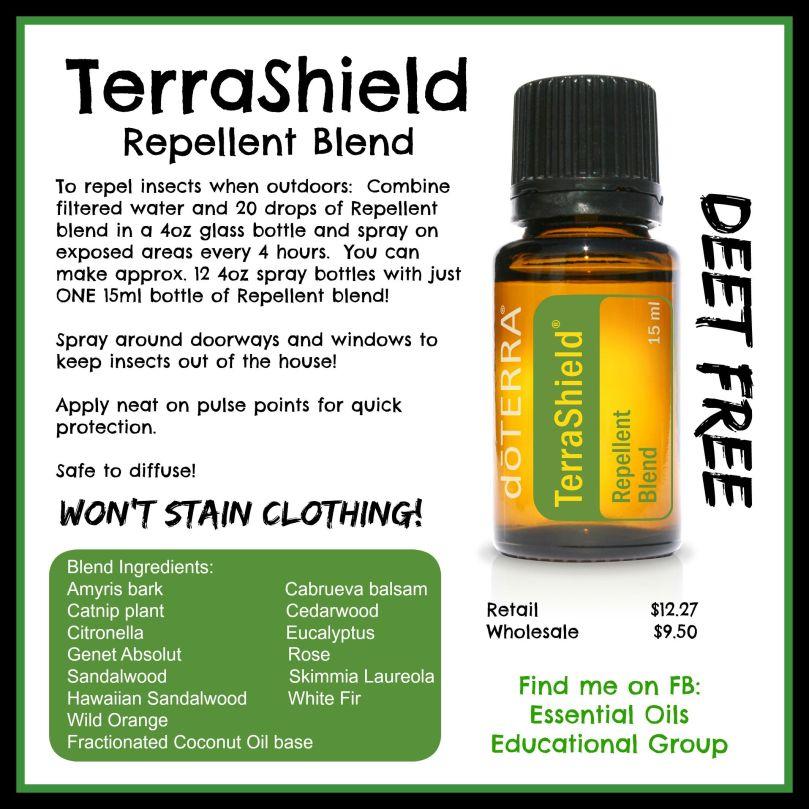 terrashield oil blend