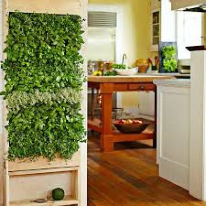 Indoor vertical gardening planter