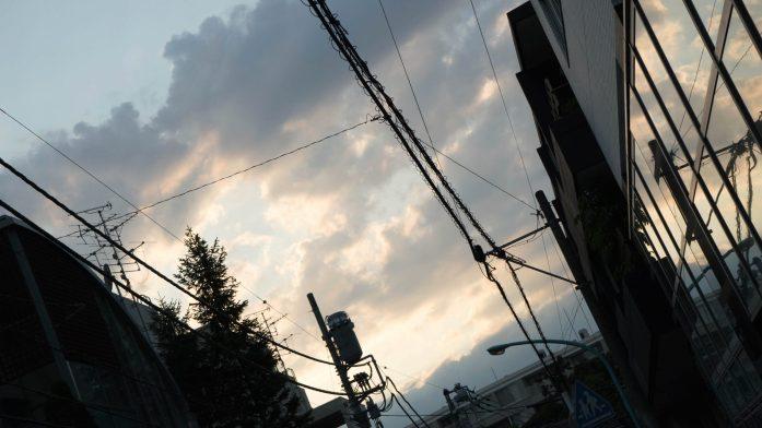 Le ciel de Tokyo
