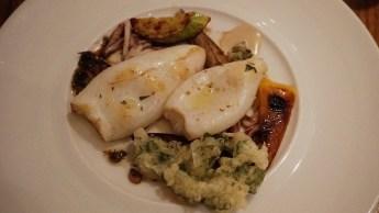 Le plat de poisson du Kitchen Gallery Bis