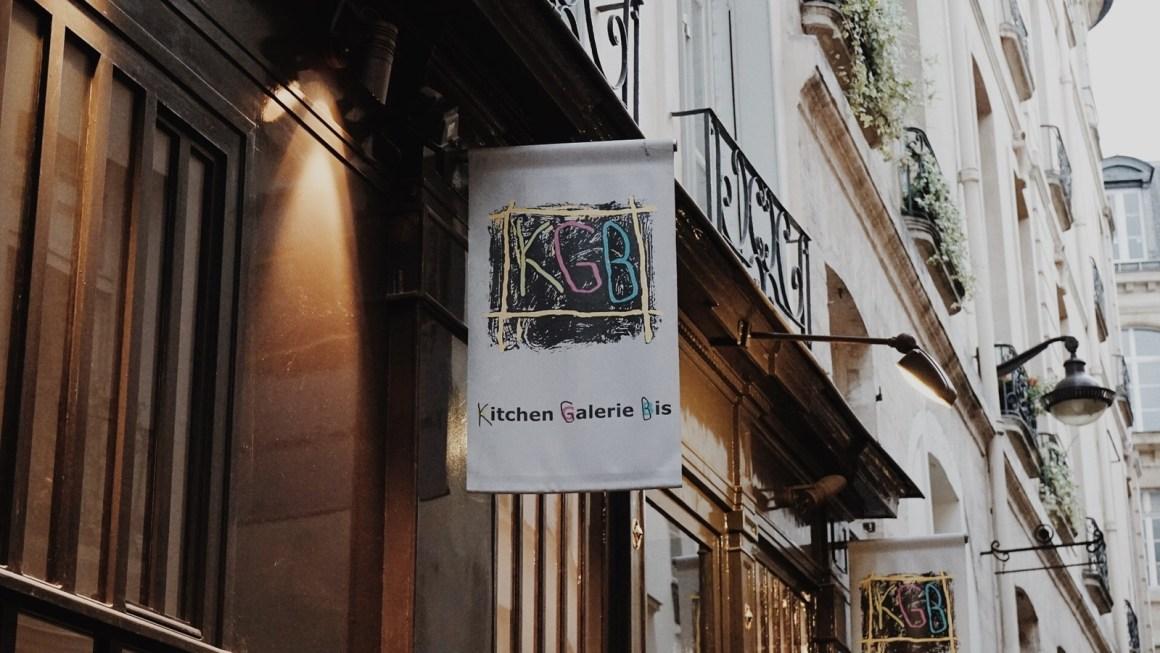 Devanture du restaurant Kitchen Gallery Bis