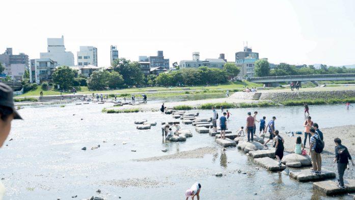 la rivière Kamogawa