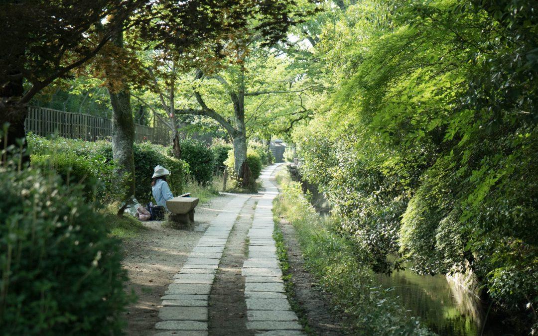 le chemin de la philosophie à Kyoto