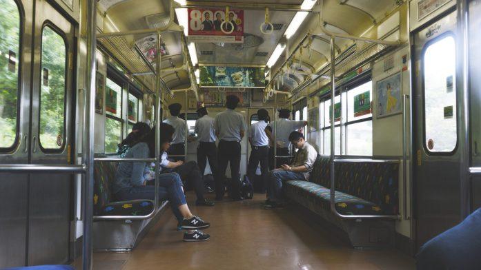 Le train qui mène à Nara