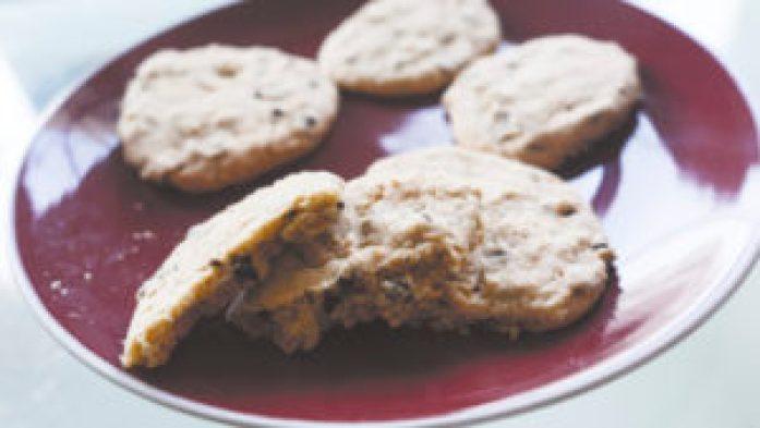Cookies à l'intérieur