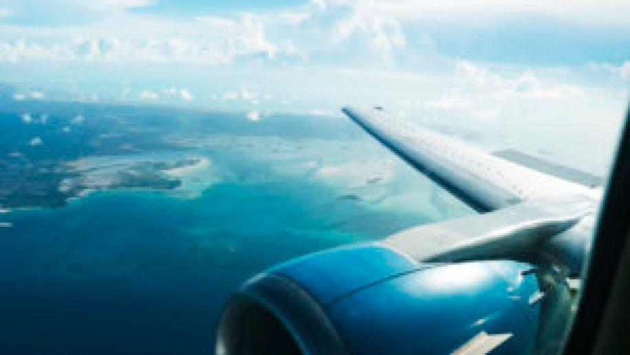 Les Bahamas vus du ciel