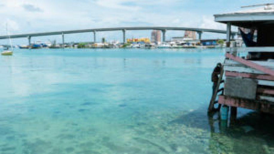 Le pont menant à Paradise Island