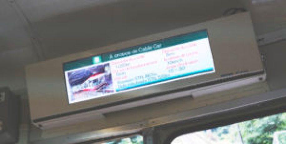 Le texte du Cable Car écrit en français