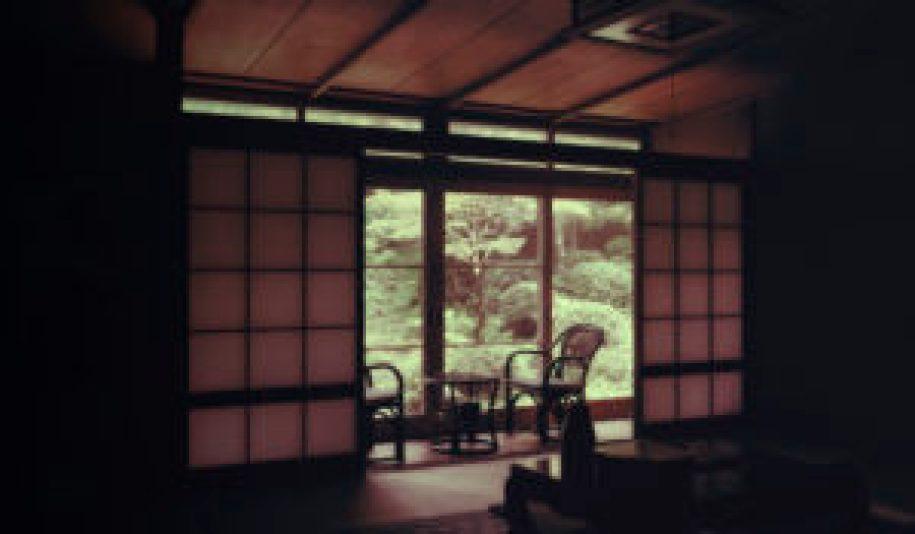 L'intérieur de notre chambre au temple Eko-In au Mont-Koya