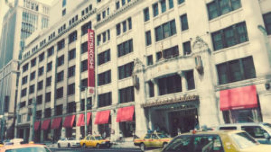 le grand magasin Mitsukoshi