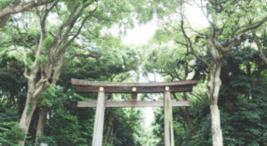 L'entrée du parc Yoyogi