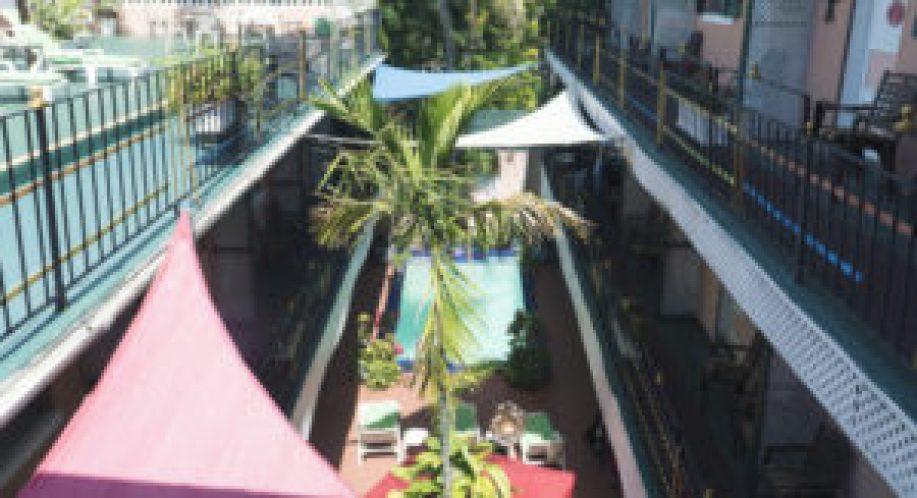 La piscine du Towne Hotel à Nassau, New Providence