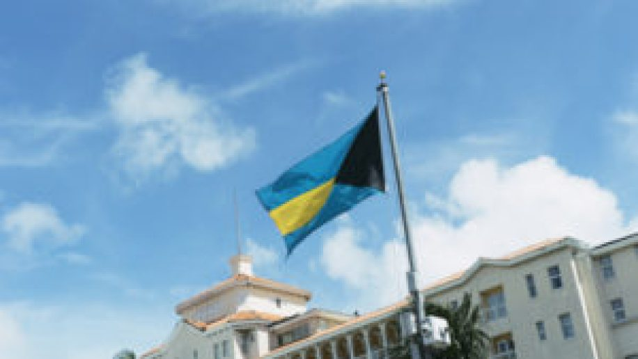 Le drapeau des Bahamas