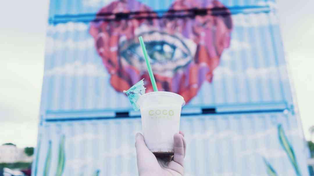 Coco et street art à Wynwood