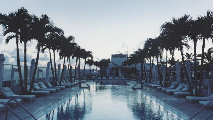 La piscine sur le rooftop du One Hotel