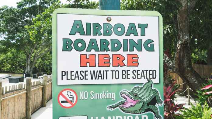 Airboat Boarding