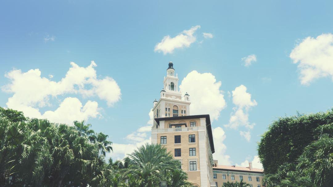 La tour du Biltmore hotel