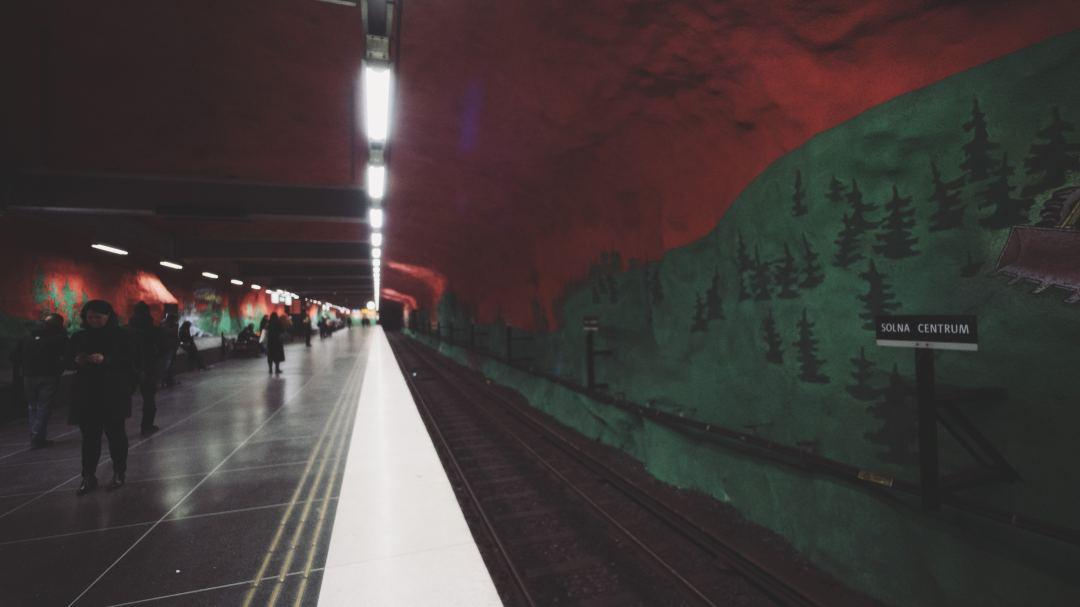 Station metro Stockholm