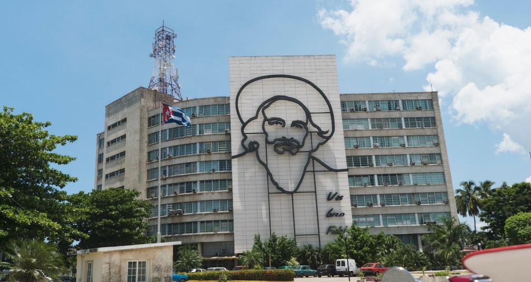 Plaza de la Revolución portrait