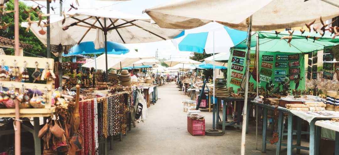 Le marché à Vinales