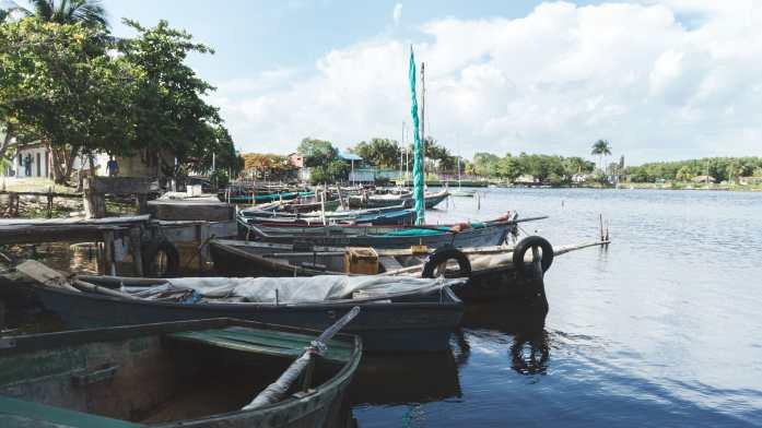 le port de playa larga à cuba