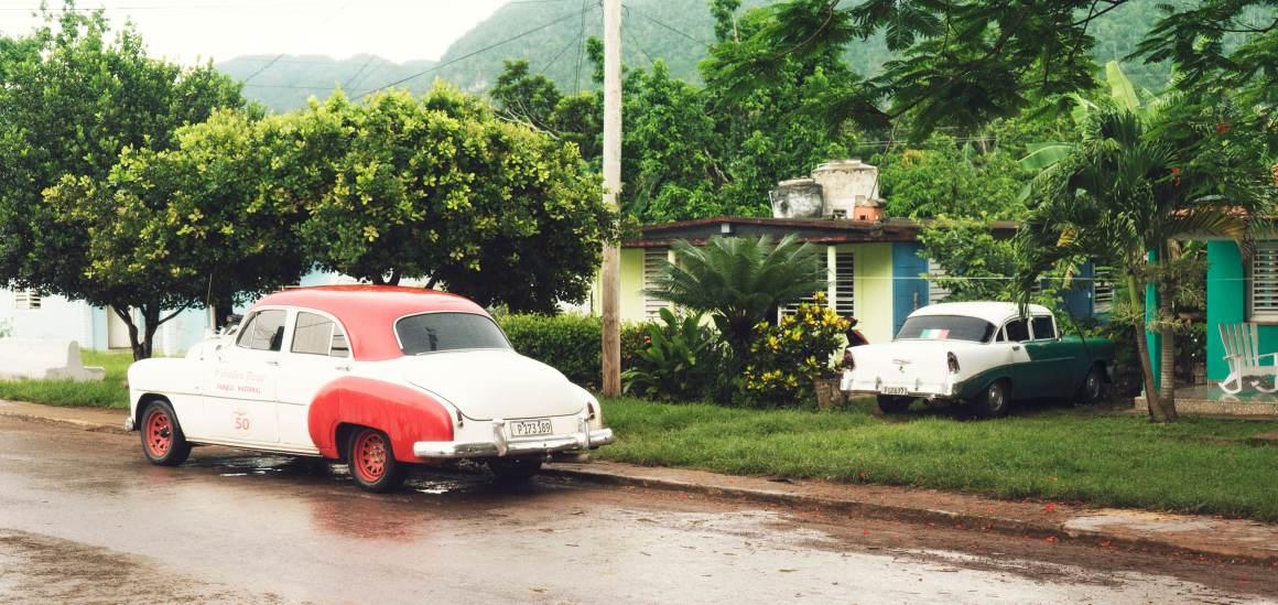 Les rues de Vinales à Cuba