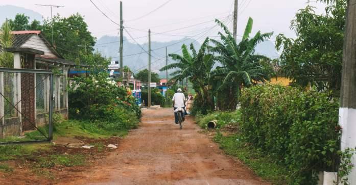 La ville de Vinales à Cuba