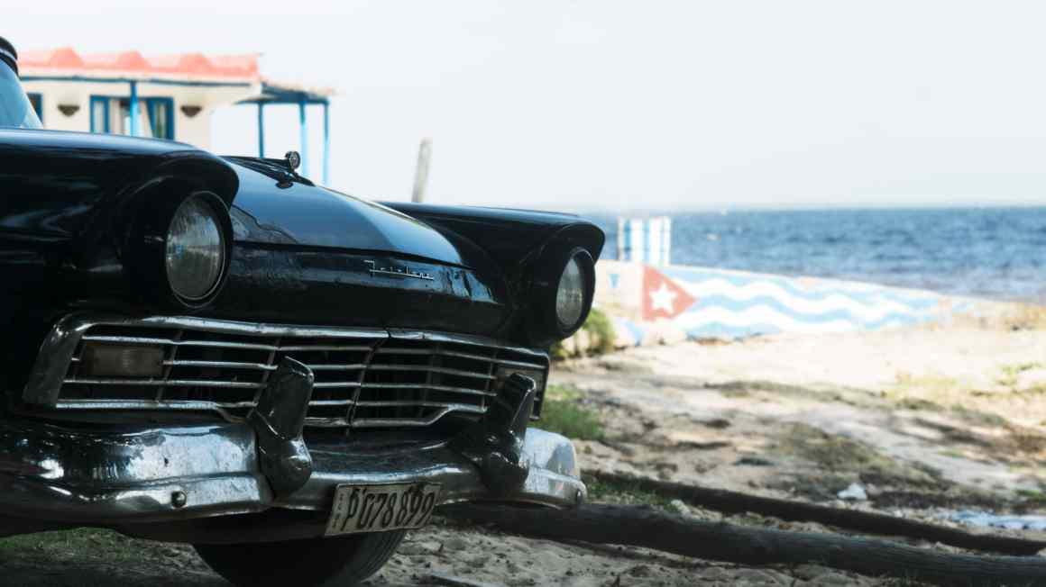 voitures à playa larga
