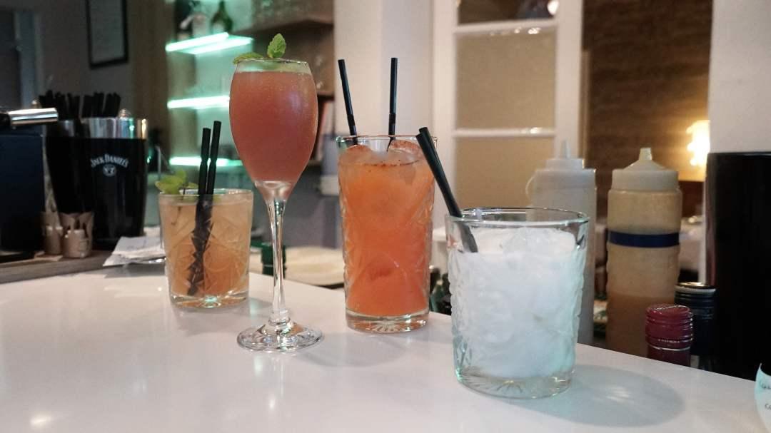 4 cocktails l'amirauté