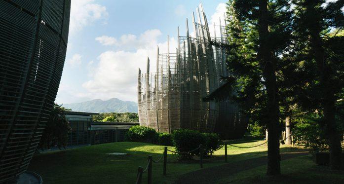 Architecture centre Tjibaou