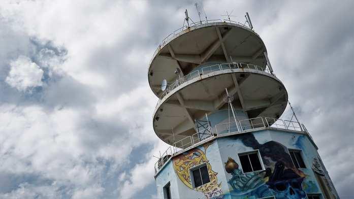 La tour mobilis à Nouméa