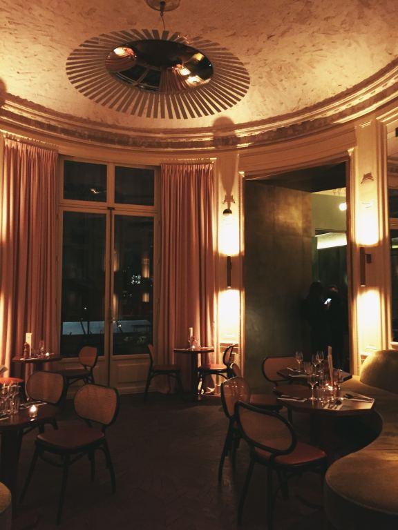 décoration restaurant bb blanche