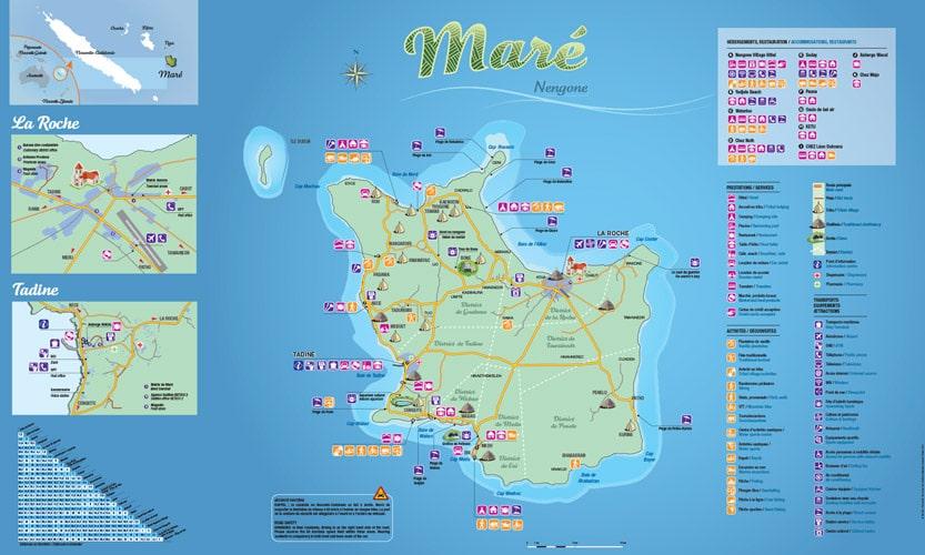 carte de Maré