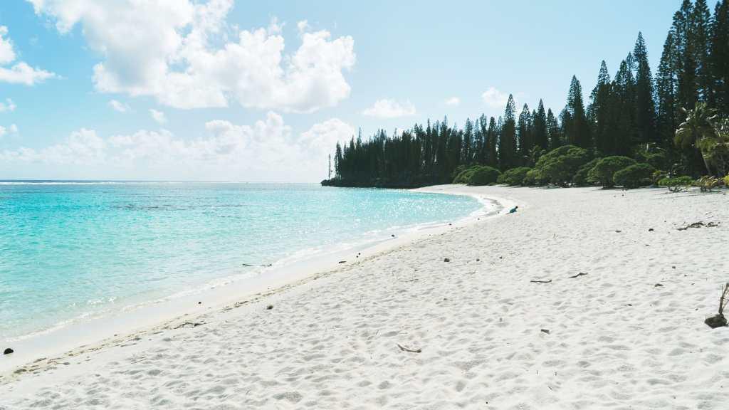 plage à Maré