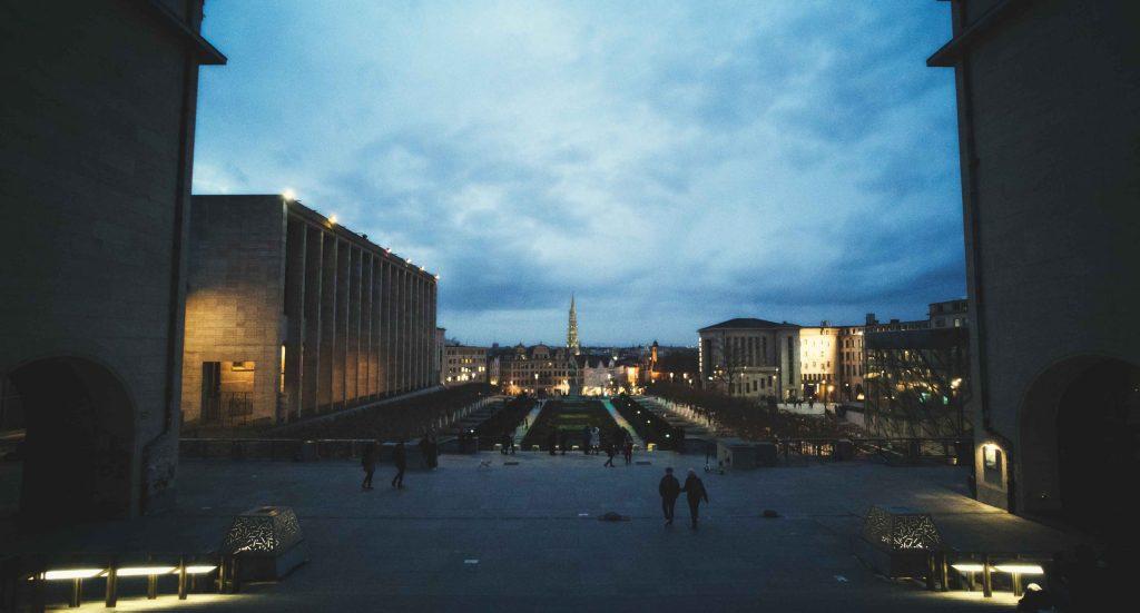 Le Mont des arts de Bruxelles