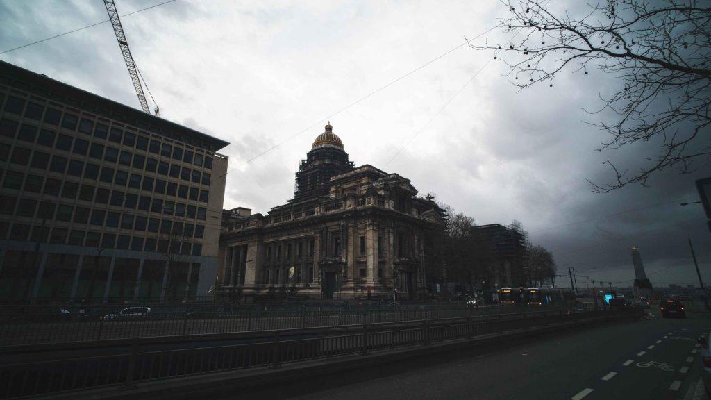 Le palais de justice de Bruxelles